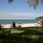 Noosa Strand - Blick aufs Meer