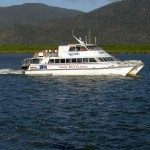 Cairns Schnorcheltrip - Boot auf dem Weg in den Hafen