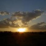 Weg-nach-Cairns-Sonnenuntergang