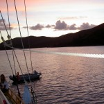 Whitsunday Islands Sailing Sonnenuntergang