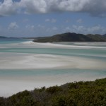 Whitsunday Islands Sailing Cruise - Blick auf Whitehaven Beach
