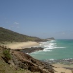 Fraser Island 4WD Tour Champaign Pools - Blick Richtung Waddy Point