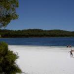 Fraser Island 4WD Tour Lake Benareen - Blick auf See 2