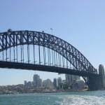 Habor Bridge Sydney nahe