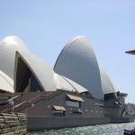 Sydney Oper von hinten
