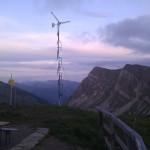 Tölzer Hütte Windrad