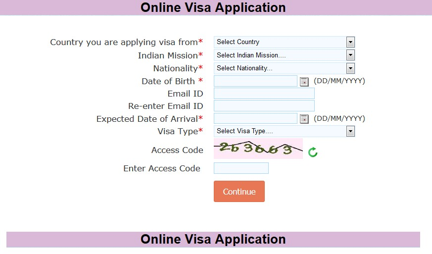 online-visa-application