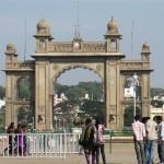 Maharadcha Palast Gate