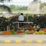 Gemüseverkäuferin Indien