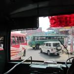 Busfahrt Indien