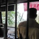 Busfahrer Indien